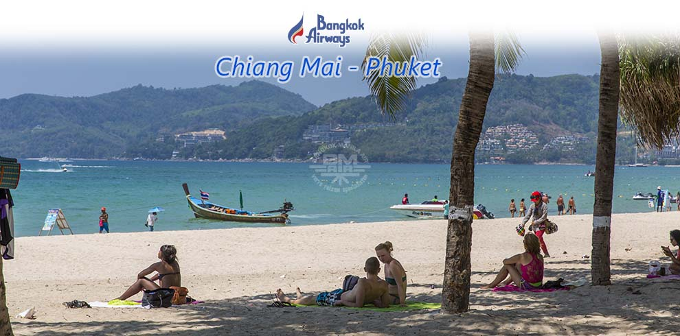 Bangkok Airways - Chiang Mai - Phuket