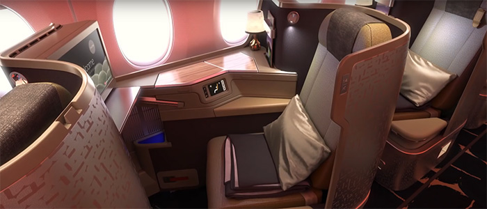 China Airlines - Business Klasse
