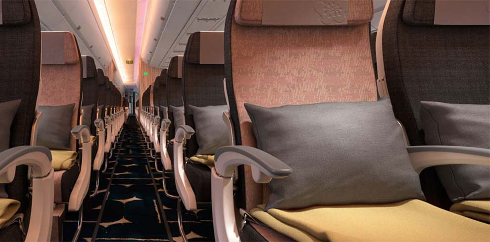 China Airlines - Economy Klasse