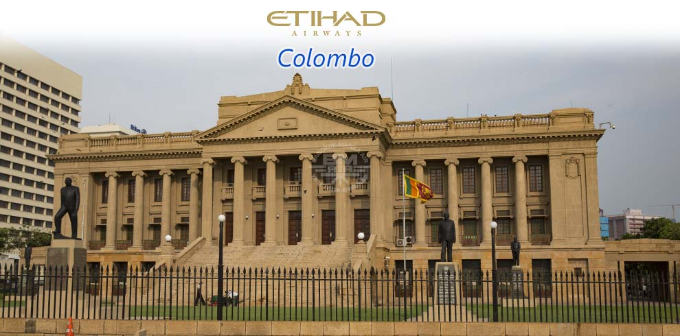 Etihad Airways - Colombo