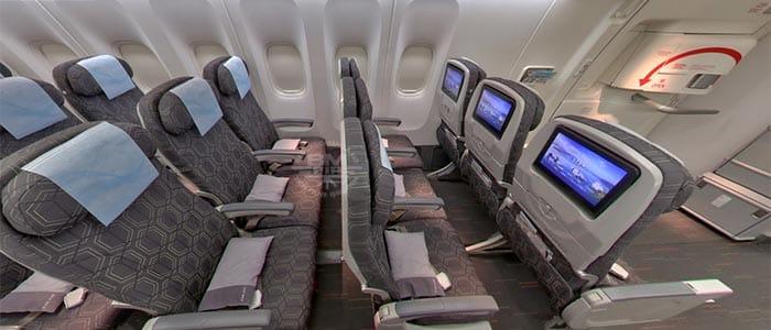 Eva Air - Economy Klasse B777