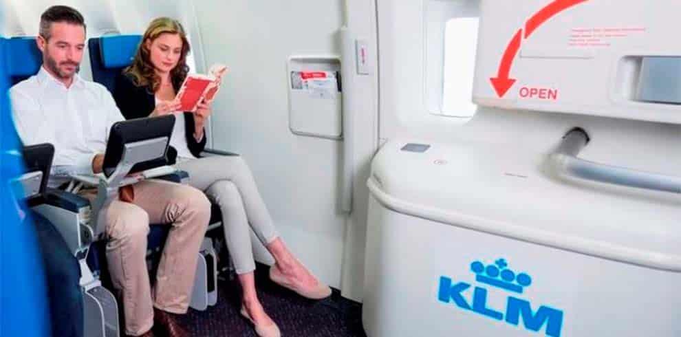 KLM - Extra beenruimte