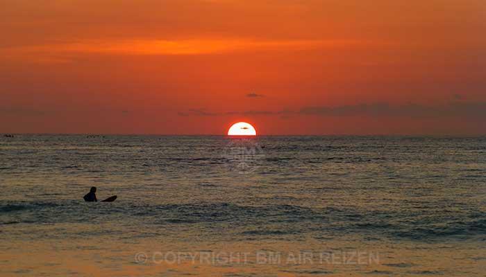 Kuta Beach - Zonsondergang