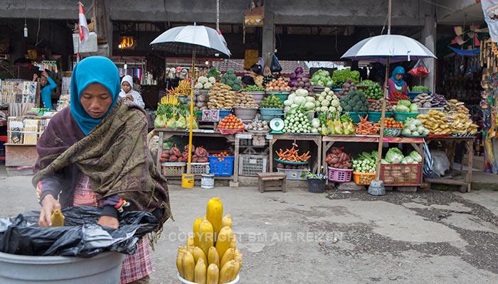 Lokale markt Bedugul