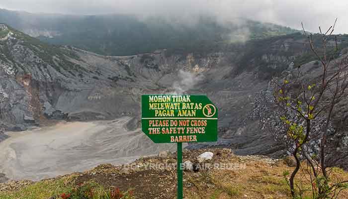 Bandung - Tangkuban Perahu vulkaan