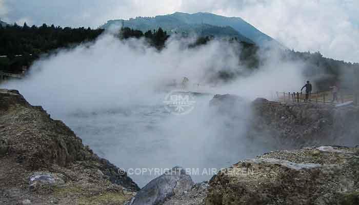 Yogyakarta - Dieng plateau