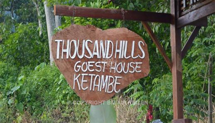 Ketambe - Thousand Hills Guesthouse