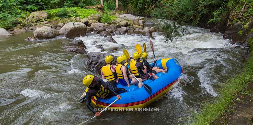 Bali - Ayung river raften