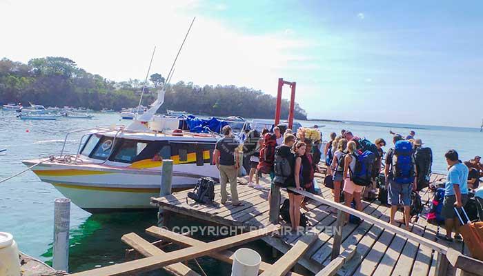 Boot Gili Trawangan