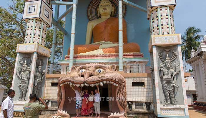 Negombo - Angurukaramulla tempel