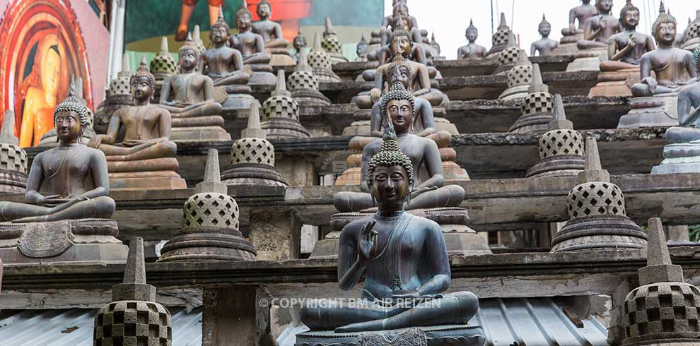 Colombo - Gangaramaya tempel