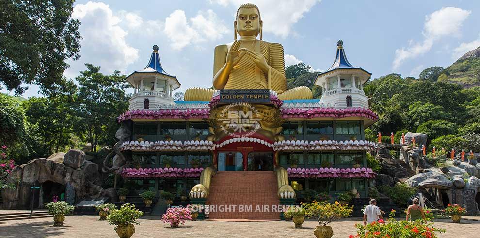 Dambulla - Golden Buddha Temple