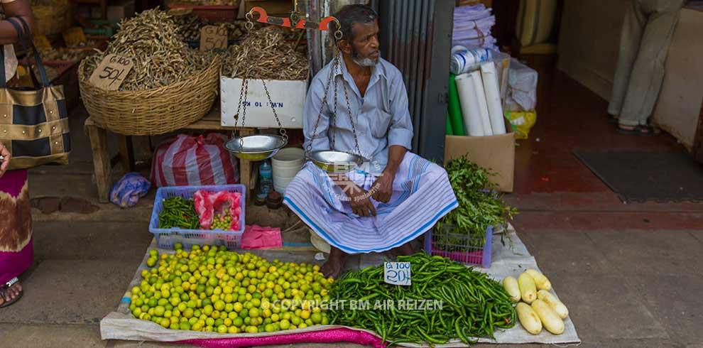 Markt Fruitverkoper
