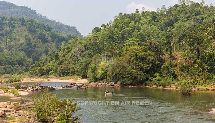 Kitulgala - rafttocht