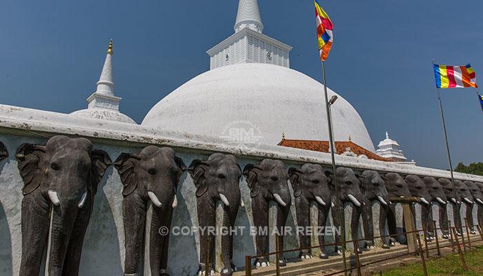 Anuradhapura - The Elephant Wall