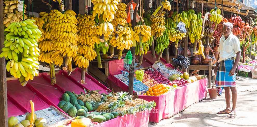 Nuwara Eliya - markt