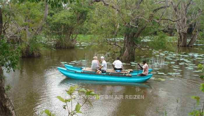 Rondreis Sri Lanka Best Deal - Boottocht over het meer