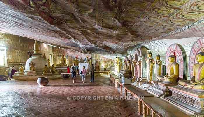 Rondreis Sri Lanka Best Deal - Grotten Rotstempel Dambulla
