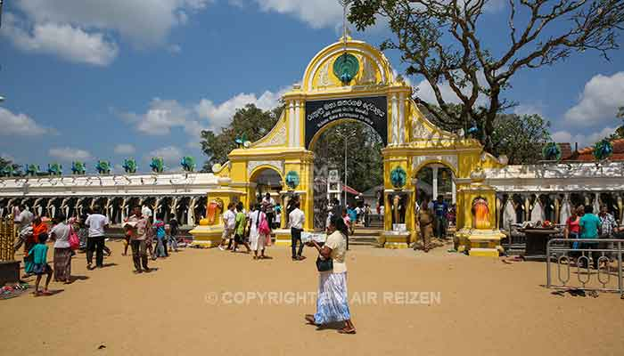 Rondreis Sri Lanka Best Deal - Skanda tempel in Kataragama