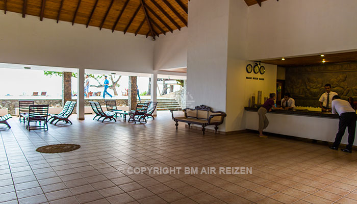 Rondreis Sri Lanka Best Deal - inchecken in het Koggala Beach Hotel