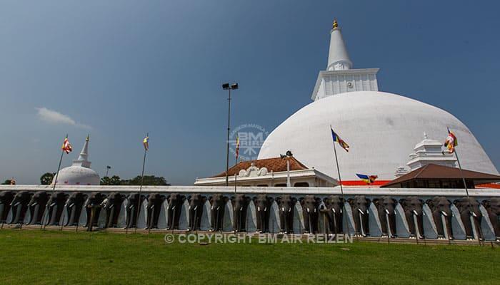 Anuradhapura - Golden Sand Stupa