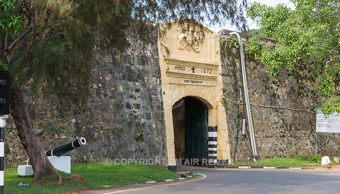 Trincomalee - Fort Frederick
