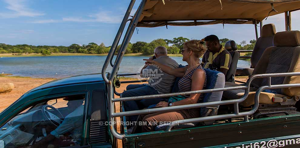 Yala Nationaal Park - Jeepsafari