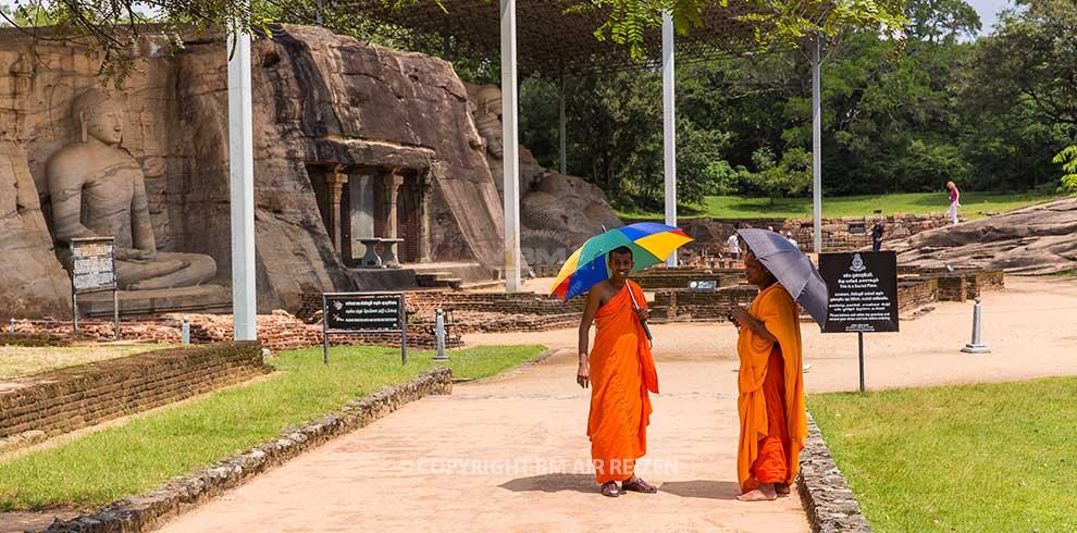 Polonnaruwa - monniken