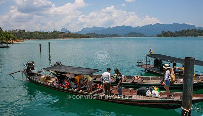 Khao Sok National Park - Cheow Lan pier