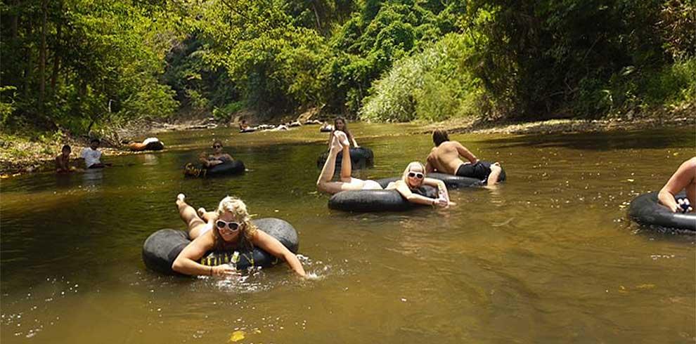 Khao Sok National Park - tubing