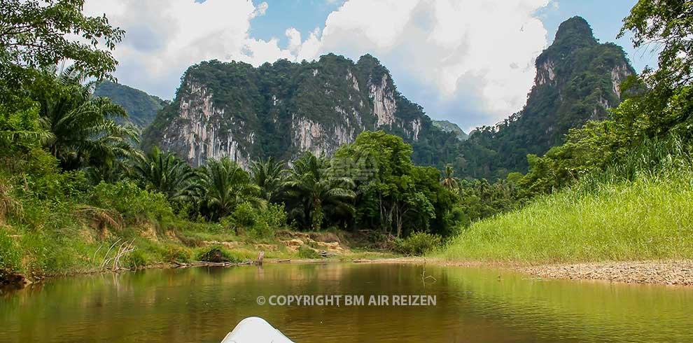 Khao Sok National Park - kanotocht