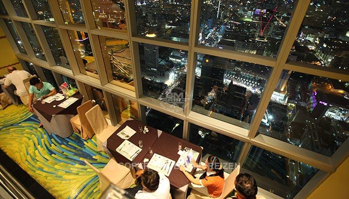 Bangkok - Baiyoke Sky Dinner