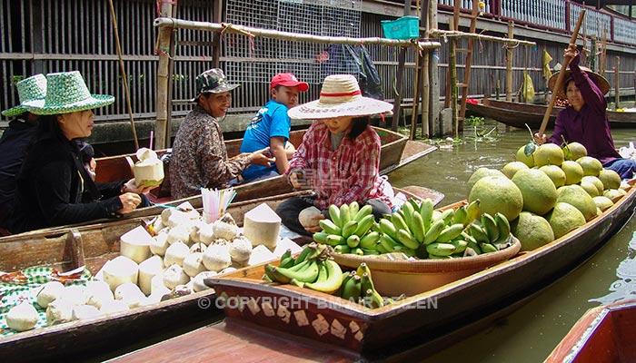 Damnoen Saduak - drijvende markt