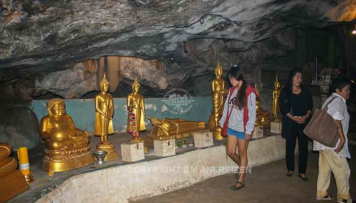 Kanchanaburi - Khao Poon Cave Tempel