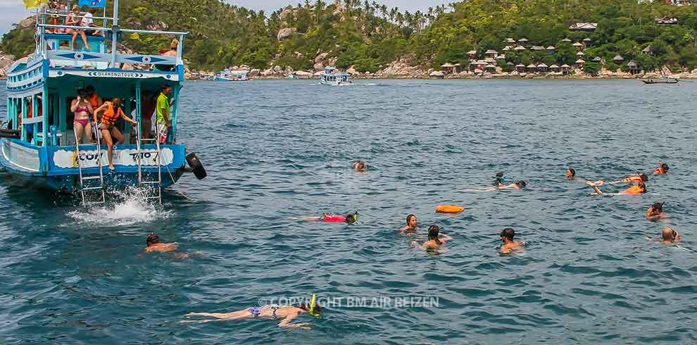 Koh Tao - snorkelen