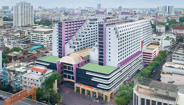 Bangkok - Twin towers hotel