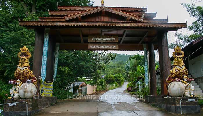 Pai - Wat Phra That Mae Yen