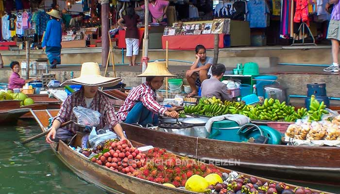 Drijvende markt - Damnoen Saduak