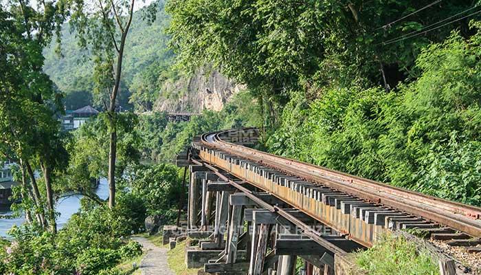 Kanchanaburi - treinreis
