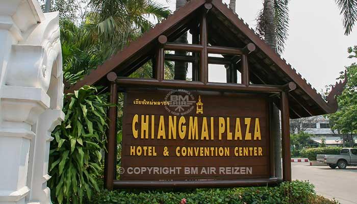 Chiang Mai - Chiang Mai Plaza hotel