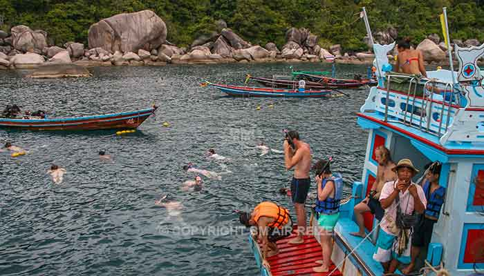 Koh Tao - snorkeltour
